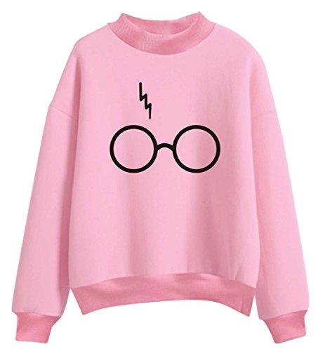 Sudadera Harry Potter Rosa Mujer