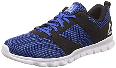 Reebok Men's Awesome Blue/Black Shoes-7 UK/India (40.5 EU)(8 US) (Breeze Run Lp)