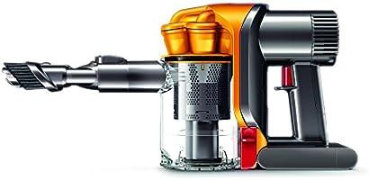 Dyson DC43H Akkusauger (beutelloser Handstaubsauger, 200 W, 2 Saugstufen, 20 min Laufzeit, Lithium-Ionen Akku, einfache Behälterentleerung, inkl. Zubehör)