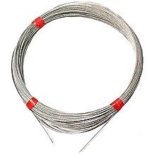 BeMatik - Cable de Acero Inoxidable de 1,5mm 10m