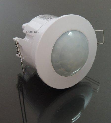 Einbau Bewegungsmelder LED weiß 360°