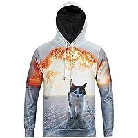 Givekoiu-clothings - Camiseta Deportiva - Manga Larga - para Hombre