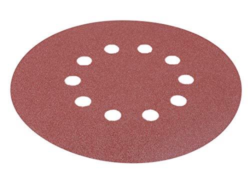 Matrix 130210020 Schleifpapier Set für Trockenbauschleifer 225mm Durchmesser (verschiedene Körnungen)