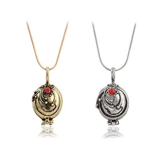 Jane Stone Kombination Verkauf Schmuck 2Vampire Diaries Inspire Halsketten Anhänger Eisenkraut Elena Gilbert