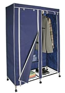 doppelter kleiderschrank auf rollen k che haushalt. Black Bedroom Furniture Sets. Home Design Ideas