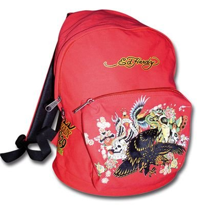 Leaning Import 10250700 - Trend Import - Ed Hardy - All Over Rucksack