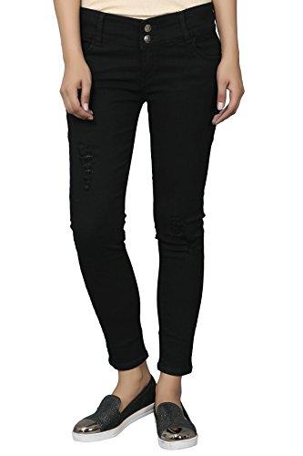 Knight Vogue Light Blue Denim Lycra Slim Fit Casual Jeans...