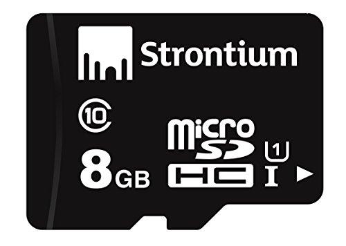 Strontium Class 10 MicroSDHC SR8GTFC10R 8GB Memory Card