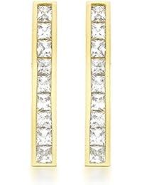 Carissima Gold Damen-Ohrringe (375) Zirkonia