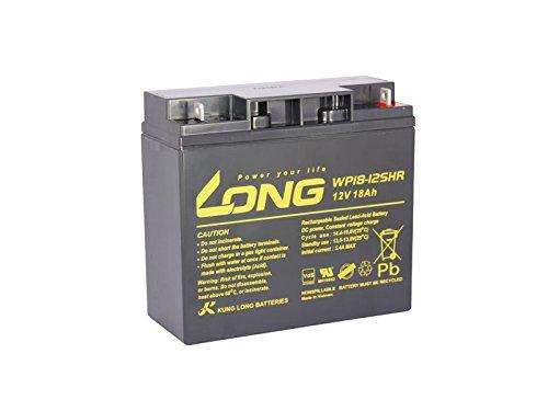 Akku kompatibel Y17-12 12V 18Ah wie 17Ah AGM Blei Batterie wiederaufladbar SLA