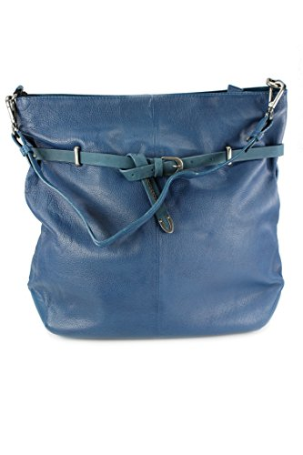 FREDsBRUDER, Borsa tote donna Blu Denim Blue Denim Blue