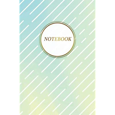 Notebook: Gorgeous Trendy Holographic Journal   120-Page Blank Pretty Holographic Notebook   6 X 9 Perfect Bound Glossy Softcover