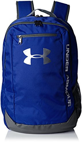 Under Armour UA Hustle Backpack LDWR Mochila, Hombre, Azul (Royal)