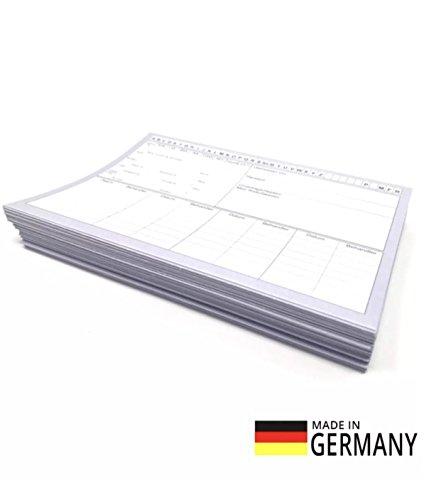 50 St/ück Patientenkarteikarten in dezentem Grau /Ärzte 22699 Physiotherapie geschlossen DIN A5 f/ür Krankengymnastik