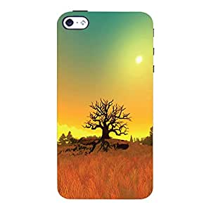ColourCrust Apple iPhone 4 Mobile Phone Back Cover With Beautiful Landscape - Durable Matte Finish Hard Plastic Slim Case