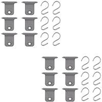 Markisen S-Haken Set für Fiamma & Omnistor 7 mm Kederschiene Hangers Kit (12)
