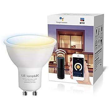 le lampux ampoule connect e led gu10 ampoule wifi. Black Bedroom Furniture Sets. Home Design Ideas