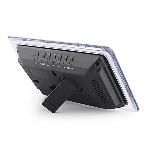 yl Multifunktions-Fotorahmen Elektronisches Album LED-HD Videowiedergabe USB Und SD Kartensteckplätze Und Fernbedienung,Black ()