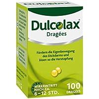DULCOLAX Dragees magensaftresistente Tabletten 100 St preisvergleich bei billige-tabletten.eu