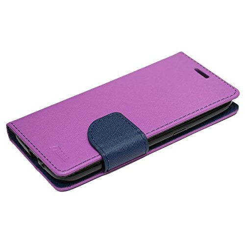 nCase Flip Cover Fancy for Samsung Galaxy J2 – 6 (New 2016 edition) – Purple, Blue