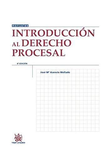 Introducción al Derecho Procesal 6 Edición 2015 (Manuales de Derecho Procesal)