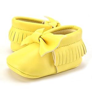 Rrimin Infant Toddler Crib Shoes SInfant Toddler Crib Shoes Fine Leather
