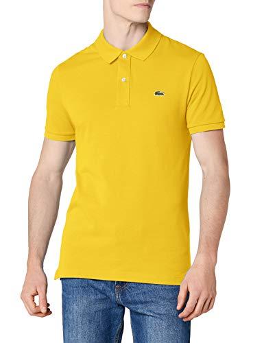 Lacoste Herren Regular Fit Poloshirt L1212, Gelb (Daphne), M (Herstellergröße: 4)
