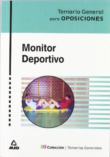 Monitor Deportivo. Temario General