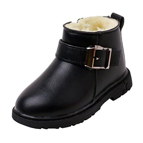 13 Mädchen Größe Stiefel (Kinder Warme Stiefel Btruely Mode Baby Schuh Martin Sneaker Jungen Mädchen Beiläufig Schuhe (21,)