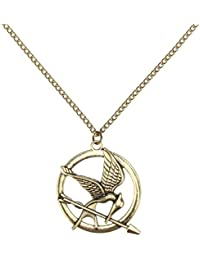 Accessorisingg Hunger Games Inspired Mockingjay Bird Bronze Pendant [PD112]