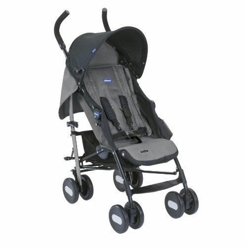 Chicco Echo - Silla de paseo, ligera y compacta, 7,6 kg, color gris