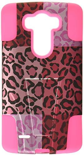 HR kabellos, der Fall für LG G34G LTE D855-Retail Verpackung-Exotic Cheetah/Hot Pink (I Phone 6 Fällen Cheetah)