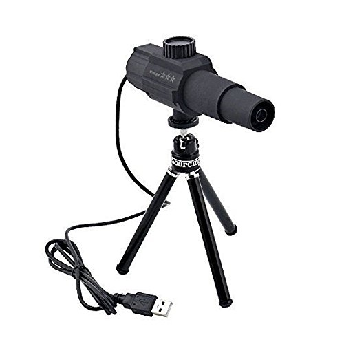 Sourcingbay W110 HD 2MP Smart Digital Telescope Camera Adjustable Focus Monocular for 2KM Long-distance Monitor Watch Monitor System with Portable Tripod