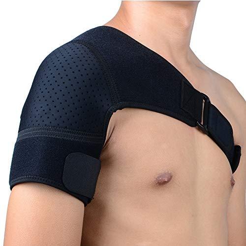 TZTED Verstellbare Schulterbandage für Verletzungsprävention und Genesung, Schulterstabilität, Gelenkschutz, Damen und Herren, passt sowohl für Linke rechte Schulter -
