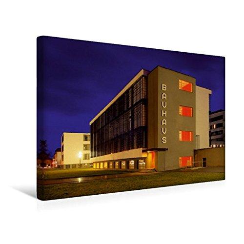 Calvendo Premium Textil-Leinwand 45 cm x 30 cm Quer, Bauhaus | Wandbild, Bild auf Keilrahmen,...