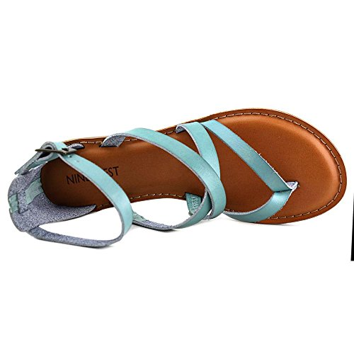 Nine West Jessabool Synthétique Sandales Gladiateur blue