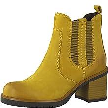 MARCO TOZZI 2-2-25489-25 Chelsea Boot, Stivali Donna, Saffron, 38 EU