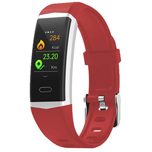 YEARNLY Smart-Armband Fitness Uhr Bluetooth Smartwatch Schrittzähler Schlafanalyse Uhr Armband Uhr Wasserdichte Pulsuhr Watch Wasserdichte Pulsuhr Watch LED Sportuhr Schrittzähler