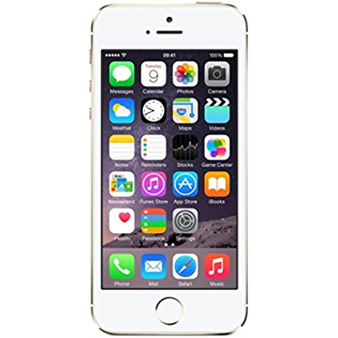 Apple iPhone 5S Oro 64GB Smartphone Libre (Reacondicionado Certificado)