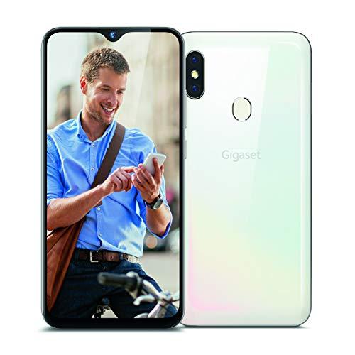Oferta de Gigaset GS290 teléfono móvil Libre - Pantalla V-Notch de 16,00 cm (6,3 Pulgadas), 4 GB de RAM, 64 GB de Almacenamiento, Android 10, NFC, Carca Protectora incluida - Blanco