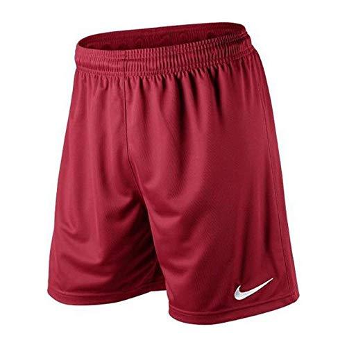 Nike Herren Park II Knit Shorts ohne Innenslip, rot (Team rot/weiß), Gr. S -