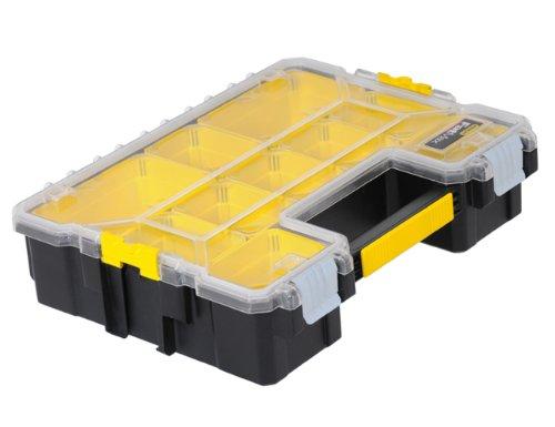 Stanley Fatmax 1-97-521 Organiseur profondeur avec 10 compartiments, Multicolore