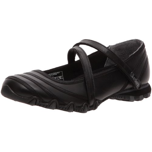 Skechers Women's Bikers Fashion Trainer Black UK 6,9 US