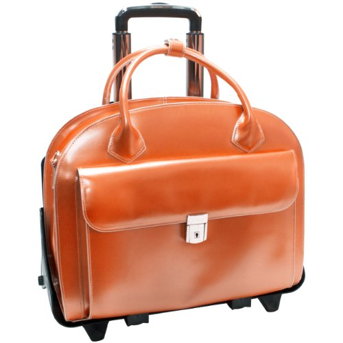 mcklein-glen-ellyn-2-in-1-removable-wheeled-ladies-briefcase-orange