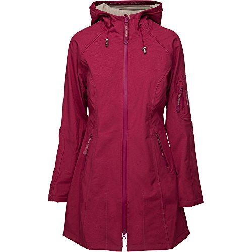 Ilse Jacobsen Charwoman Raincoat 3/4Cherry Light Sand
