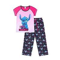 Disney Lilo and Stitch I Hate Mornings Long Ladies Pyjamas Pjs