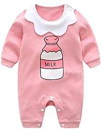 Monos para Bebé Niñas Manga Largas Otoño Invierno 2018 PAOLIAN Ropa Peleles Bodies Bebé Recien Nacidos