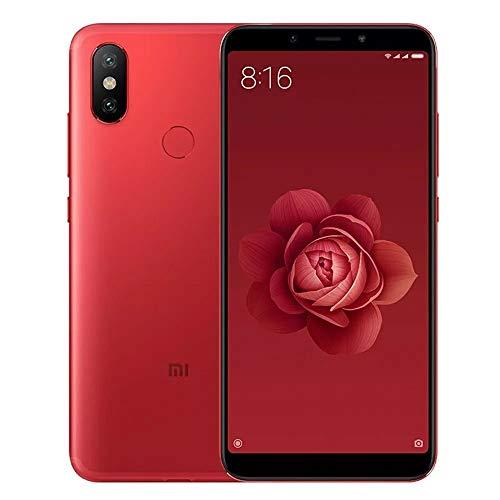 """Xiaomi Redmi Note 5 - 15,2cm Smartphone (5,99 """"), (Dual nanoSIM 4G, 64 GB, 4 GB RAM, 2160 x 1080 FHD +, 403 PPI), Red"""