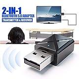 Webla - Simple Y Práctico Adaptador de Receptor de Audio Bluetooth 3.5 Para Tv/Pc Transmisor