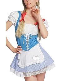 spass42 Sexy Dirndl Heidi Trachten Damen Kleid Kostüm Karneval Oktoberfest 7eb404d6b1